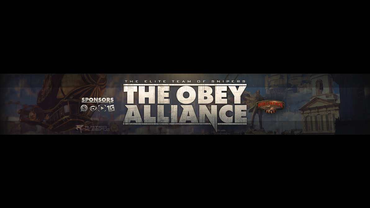 Obey Alliance Youtube Banner by OfficialRated on DeviantArt
