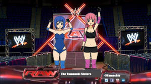 Making their way to the ring
