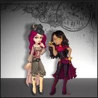 Steampunk Birthday Collab by LA-Fairy