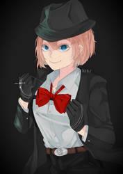 Mafia DDLC: Underboss Sayori by rrkkrkrr