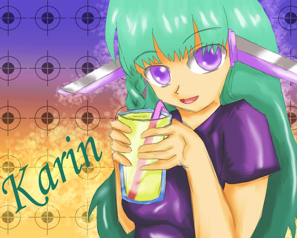 Algunos dibujos =3 Karin_by_akane_luna-d70zp3s