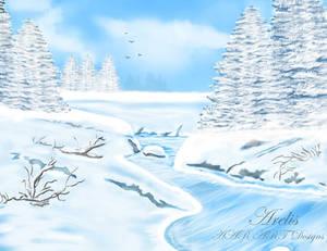 Paisaje nevado - Snowy Landscape