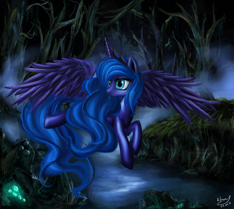 In the middle of the night by DaffyDream