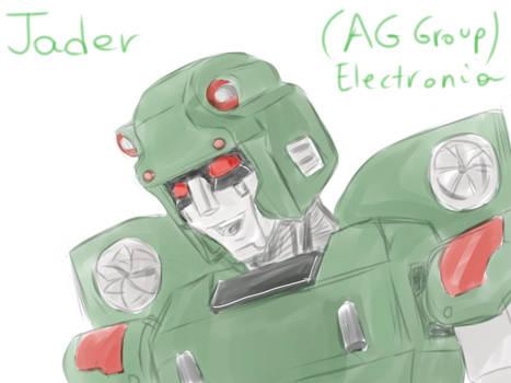 Jader Kick (Concept Art) - Planet Electronia