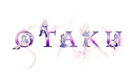 Otaku Wallpaper Purple by amyamiki