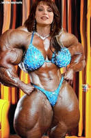 Muscular Lorena Bianchetti by saitta4