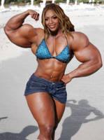 Beyonce super biceps by saitta4