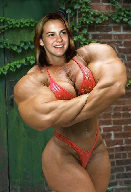 Larisa Oleynik - bikini and super muscles by saitta4