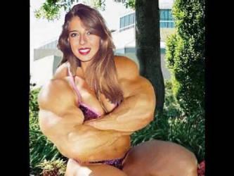 Muscular pretty girl by saitta4