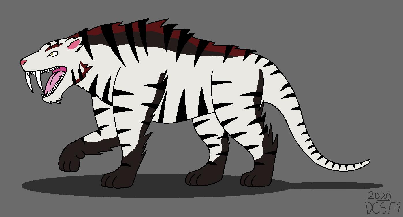 Kai, the Mutant Smilodon