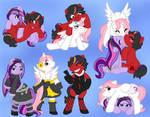 Mane Ponies of Mene