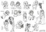Chibi Sketches: Fae