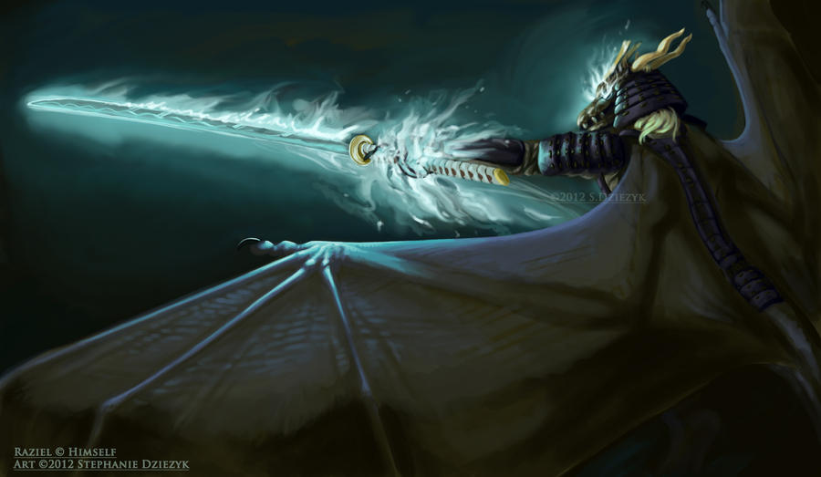 Wrath of the Samurai by LeccathuFurvicael