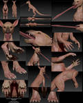 Raczoon's Critter - Skin Details by LeccathuFurvicael