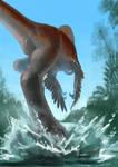 Dinovember - 24 - Gigantoraptor