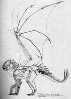 Romanian Three-Tail Skeleton by LeccathuFurvicael