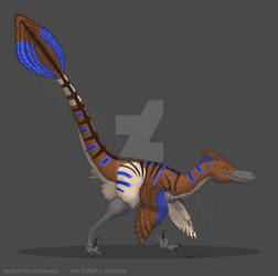 Veilsundra - Velociraptor
