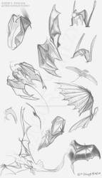 Wing Sketch Page [Patreon]