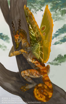 Leafy Firegrah