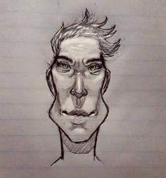 Caricature by RoseyMandi