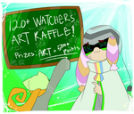 120+ Watchers Art Raffle (Re-opened)