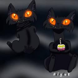 Drawloween 2021 -- Black Cat
