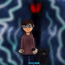 Drawloween 2021 -- Devil Child