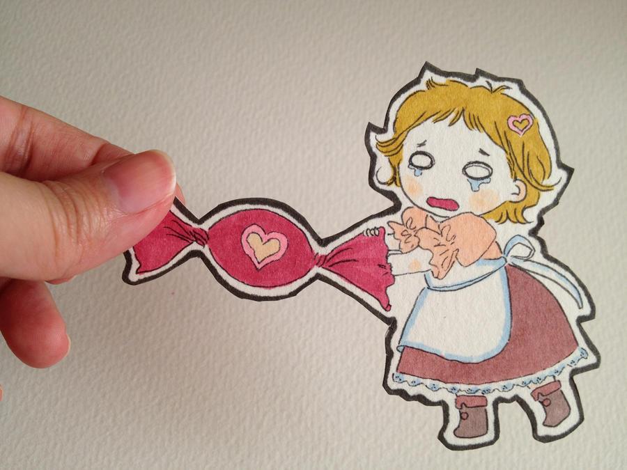 paper chibi my candy by oscar-ojisan