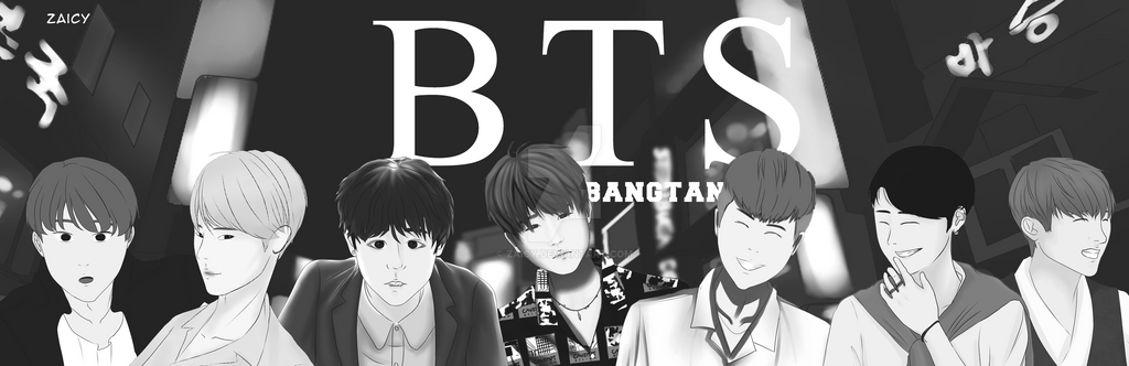 BANGTAN BOYS by Zaicy
