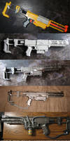 Plasma Rifle Progression