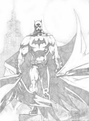 Batman - Pencils by StingRoll