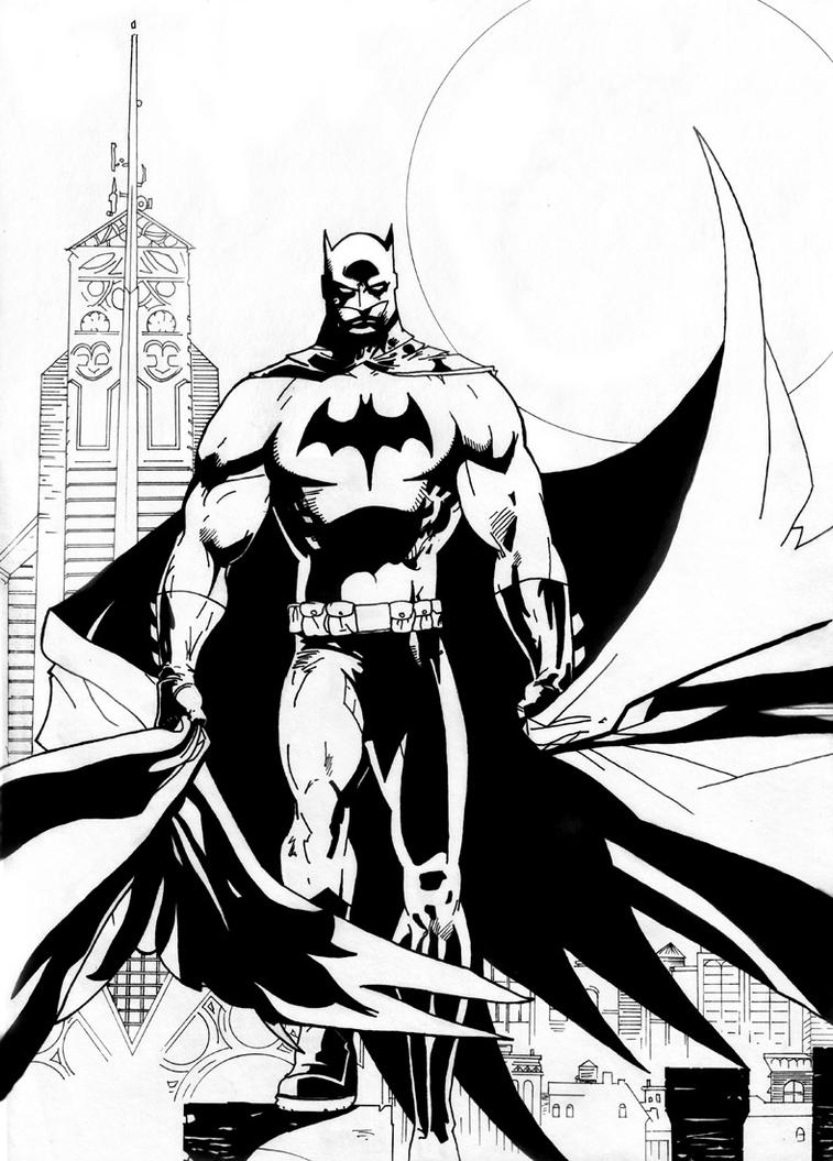 Batman - Inked by StingRoll