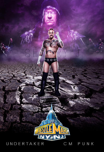 CM PUNK VS UNDERTAKER by sentryJ