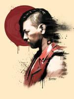 Shinsuke NAKAMURA by sentryJ