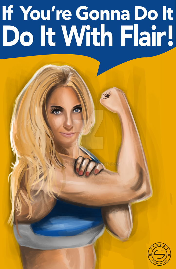 Charlotte - Do it with Flair! by sentryJ