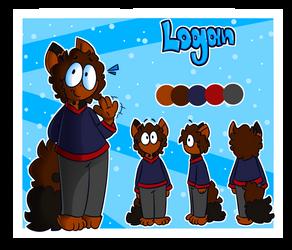 Logan Ref Sheet! by Cerpcake