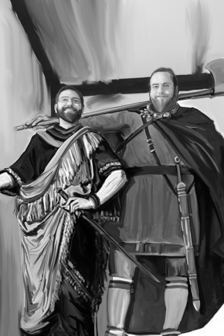 Two Celtic Idiots by Herolotus
