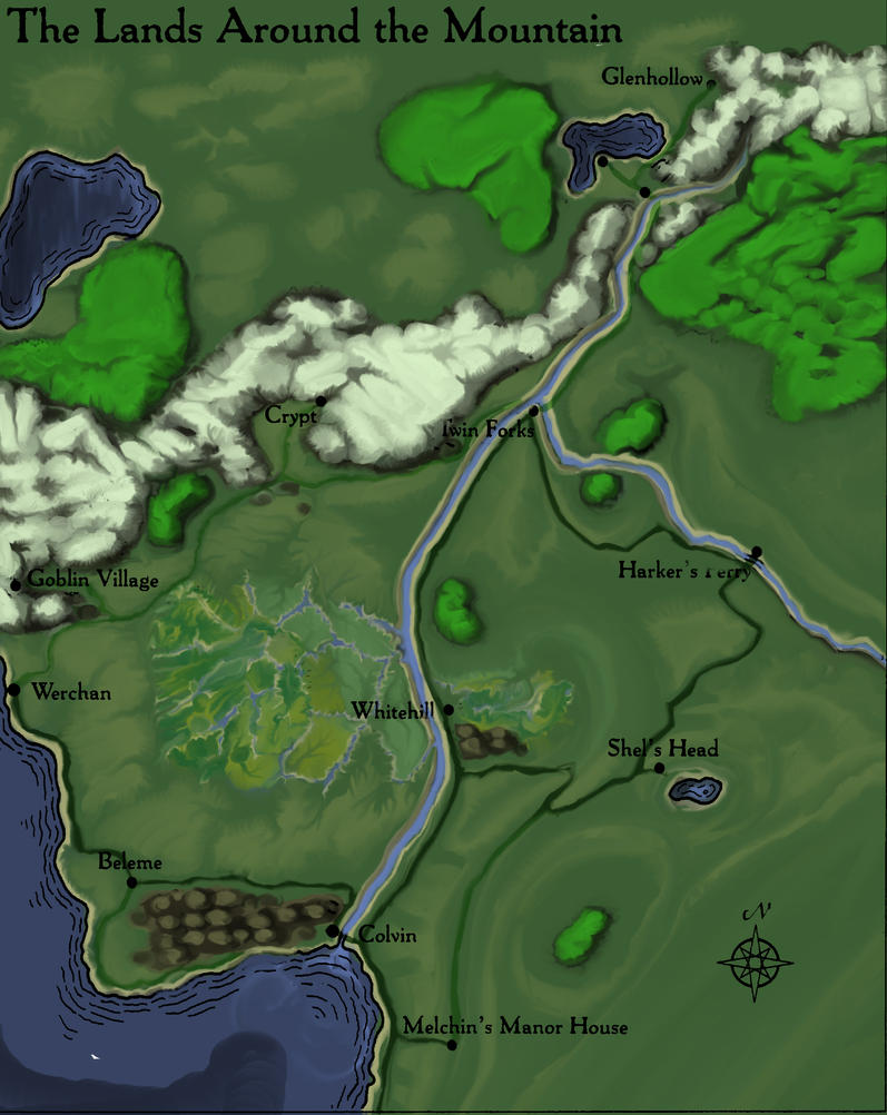 Dragon Mountain by Herolotus