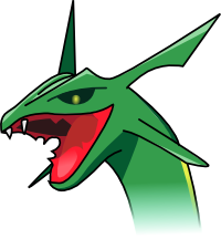The Mighty Rayquaza by DaSpirit