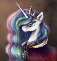 Princess Celestia by PPonyOO