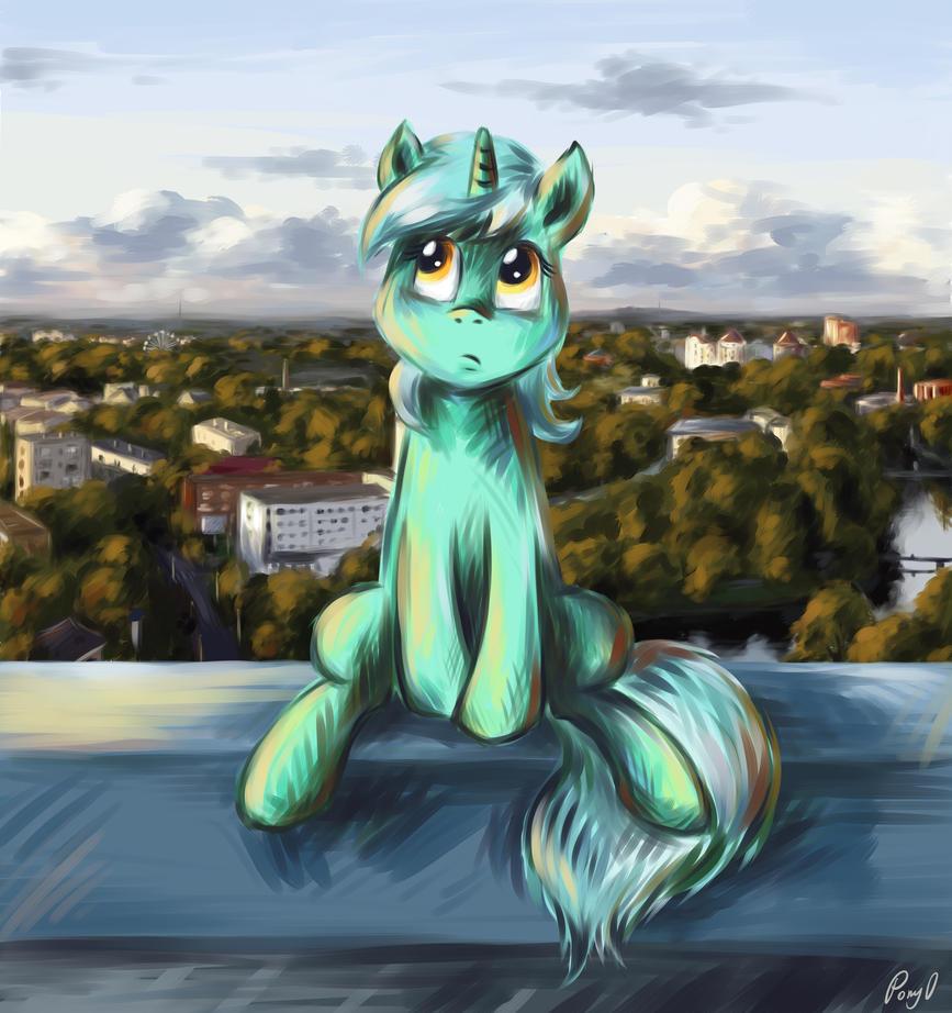 Ponies in Kaliningrad - Lyra by PPonyOO
