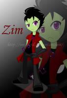 8D Zim by InvaderD