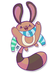 Tabby's Sentret by ditto9
