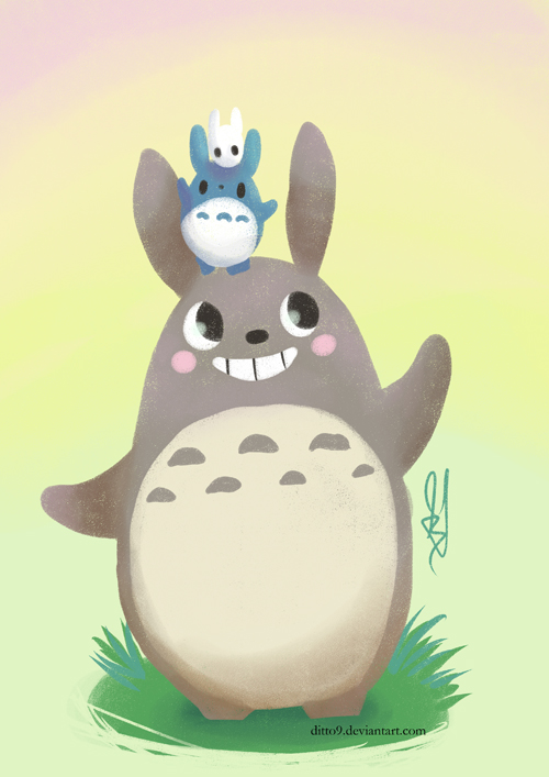 My Neighbour Totoro by ditto9