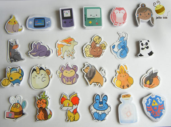 $0.15 Stickers! by ditto9