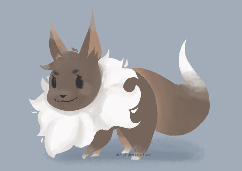 Eevee by ditto9