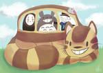 Nekobasu + Friends
