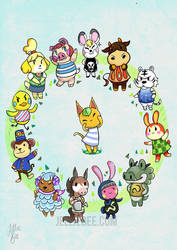 Animal Crossing Zodiac