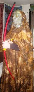 Doctor Who Full Exxilion costume