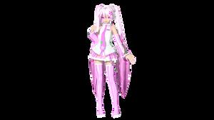 MMD DT Sakura Miku DL
